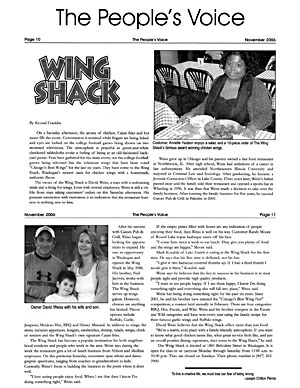 The People's Voice -- Article -- Nov. 2006